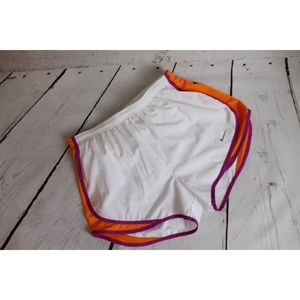 NWOT Nike White Dry Fit Running Shorts Small